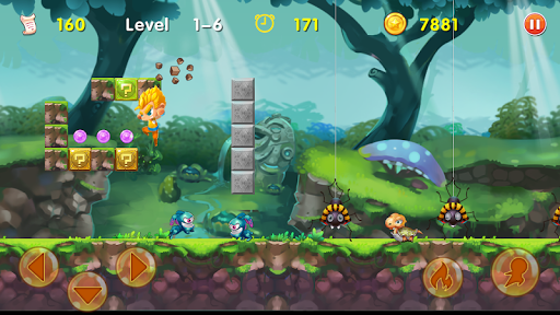 Super Dragon Boy - Classic platform Adventures 1.3.6.109 screenshots 1