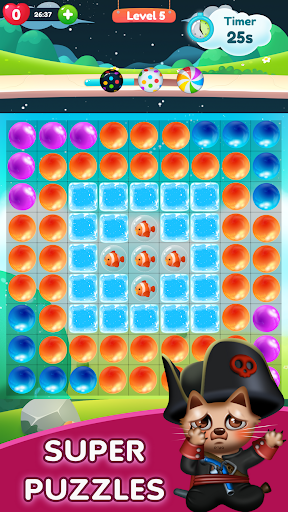 Kitty Bubble : Puzzle pop game 1.0.3 screenshots 1