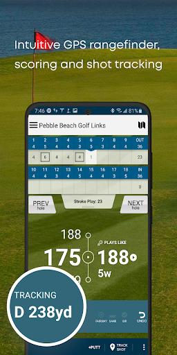 Golf GPS Rangefinder: Golf Pad android2mod screenshots 3