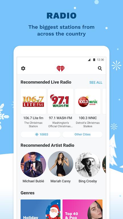 iHeartRadio: Radio, Podcasts & Music On Demand  poster 3
