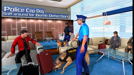 US Police Dog 2020: Airport Crime Shooting Game  screenshots 5