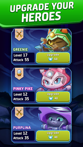 Cat Force - PvP Match 3 Puzzle Game  screenshots 3
