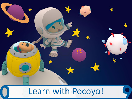 Pocoyo 1, 2, 3 Space Adventure: Discover the Stars  screenshots 8