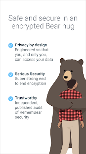 RememBear: Password Manager and Secure Wallet Screenshot
