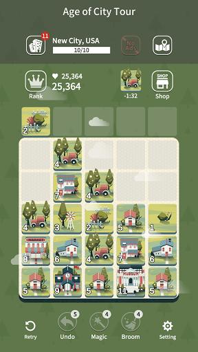 Age of City Tour : 2048 merge 1.5.5 screenshots 20