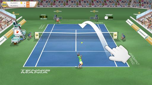 Tennis Mania Mobile apklade screenshots 1
