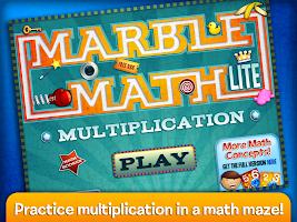 Marble Math Multiplication