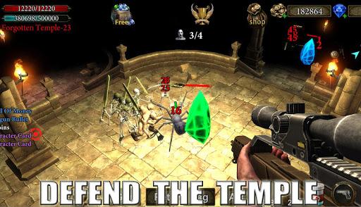 Dungeon Shooter : The Forgotten Temple apktram screenshots 14