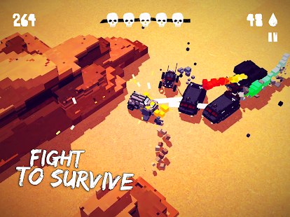 Fury Roads Survivor Screenshot