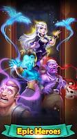 screenshot of Duel Heroes: Magic TCG card battle game
