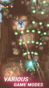 Sky Wings: Pixel Fighter 3D Latest Mod APK 3.0.7 (UNLIMITED MONEY) 3