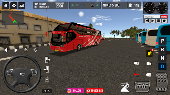 IDBS Bus Simulator MOD (Unlimited Money) 2