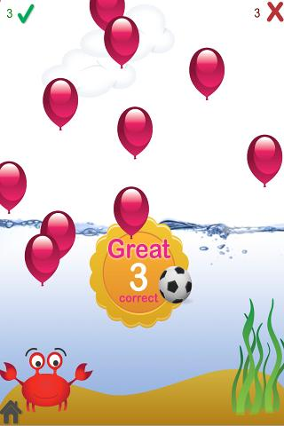 kids science game with water screenshot 2