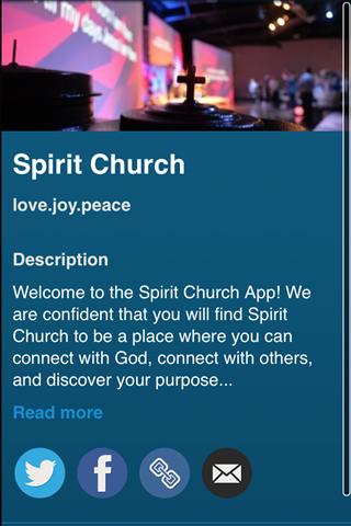 spirit church screenshot 1
