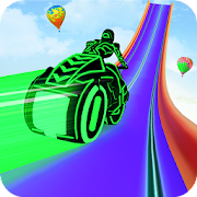 Mega Ramp Light Bike Stunts: New Bike Racing Games