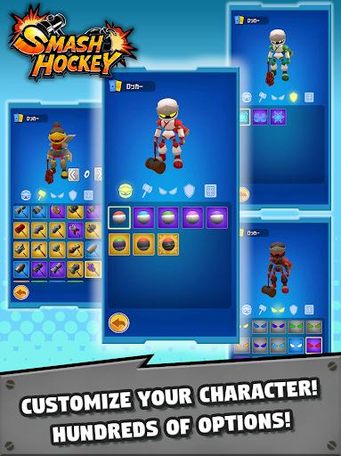 Code Triche SMASH HOCKEY apk mod screenshots 3