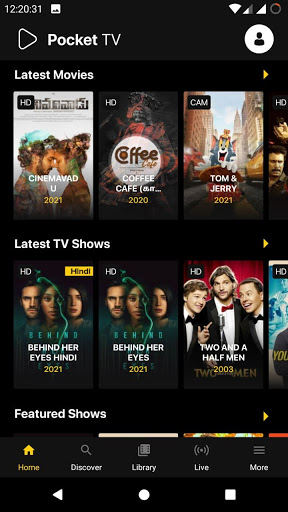 Pocket TV: Free Movies, Live TV & Web Series screen 2