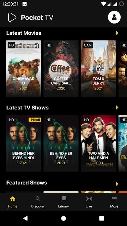 Pocket TV: Free Movies, Live TV & Web Series poster 2