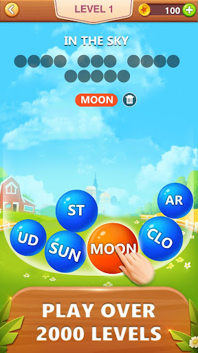 Word Bubble Puzzle - Word Search Connect Game 2.4 screenshots 1