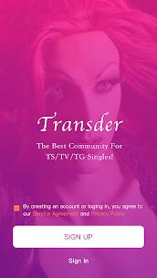 Dating & Chat with Transgender & Kinky – Transder 3