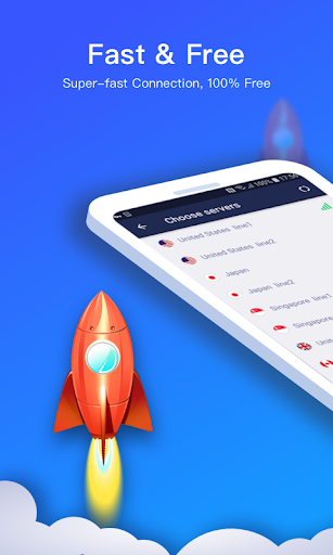 Connect VPN u2014 Free, Fast, Unlimited VPN Proxy android2mod screenshots 1
