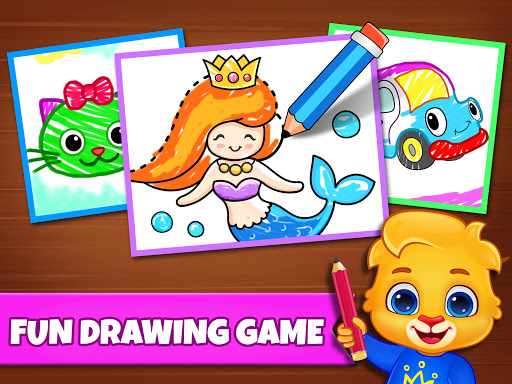 Drawing Games: Draw & Color For Kids  screenshots 8