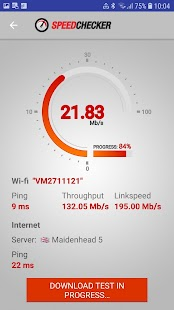 Internet and Wi-Fi Speed Test by SpeedChecker Screenshot