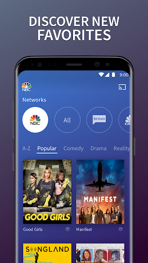 The NBC App - Stream Live TV and Episodes for Free 7.17.1 Screenshots 3