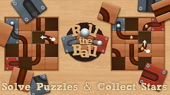 Roll the Ball® – slide puzzle Apk Download NEW 2021 5