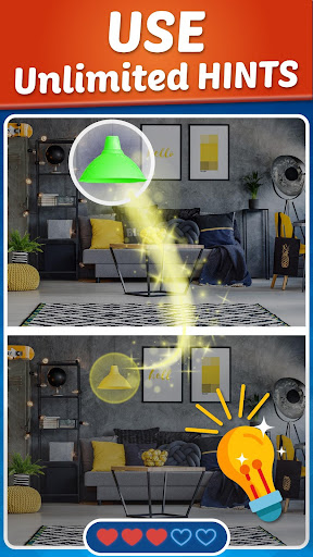 Spot The Difference - 5 Differences Finding Game apktram screenshots 17