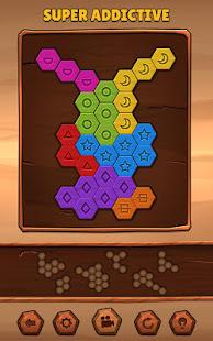 Hexa Wood Puzzle