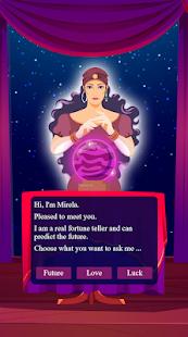 Mirela: the gypsy fortune teller