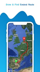 Live GPS Satellite View Maps & Voice Navigation 8
