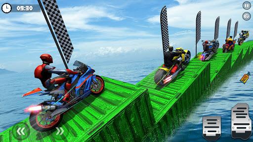 Superhero Tricky bike race (kids games) android2mod screenshots 6