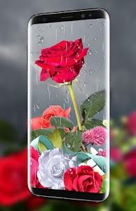 Flower Clock Live wallpaper 2021 – HD Backgrounds 2.0
