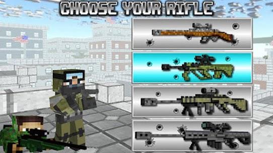 American Block Sniper Survival Mod Apk 101 (Unlimited Coin) 7