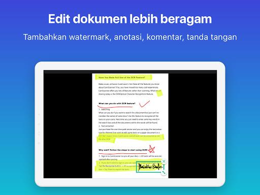 CamScanner: scan ke PDF, Word, Excel, Foto, gratis