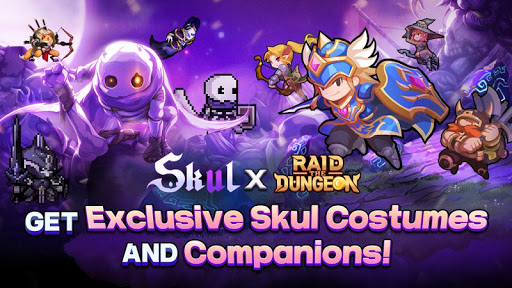 Raid the Dungeon : Idle RPG Heroes AFK or Tap Tap apkmr screenshots 17