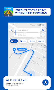 GPS, Maps Driving Directions, GPS Navigation 1.0.25 Latest MOD Updated 2