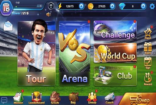 Code Triche Football  Management Star APK MOD (Astuce) screenshots 1