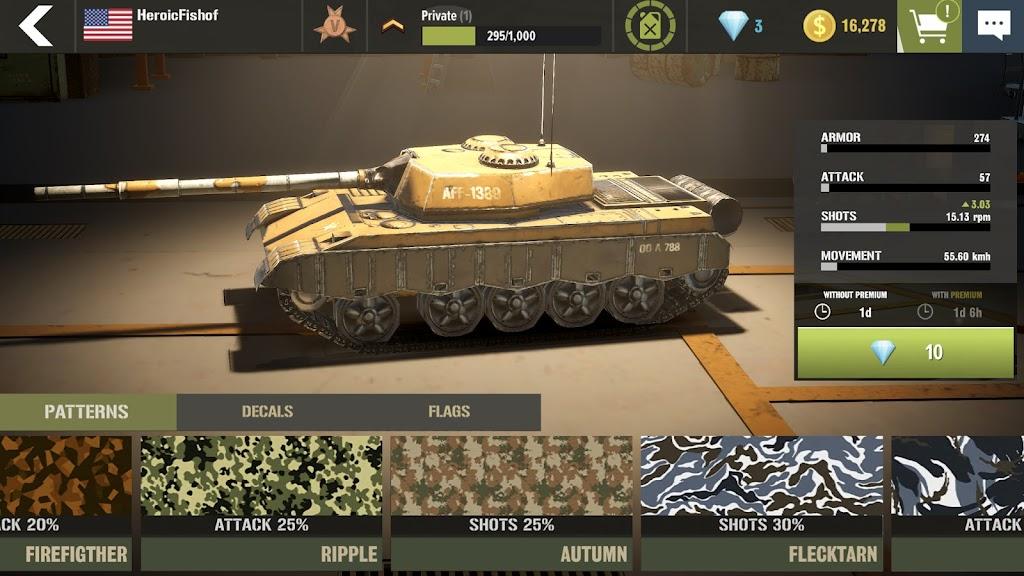 War Machines: Tank Army Game poster 4