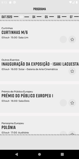 Curtas Vila do Conde screenshots 3