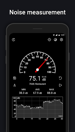 Download APK: Sound Meter : SPL meter, dB meter, noise meter v6.0 [Premium]