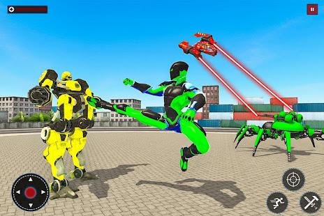 Flying Spider Rope Hero: Gangster Crime City 1.0 Screenshots 6