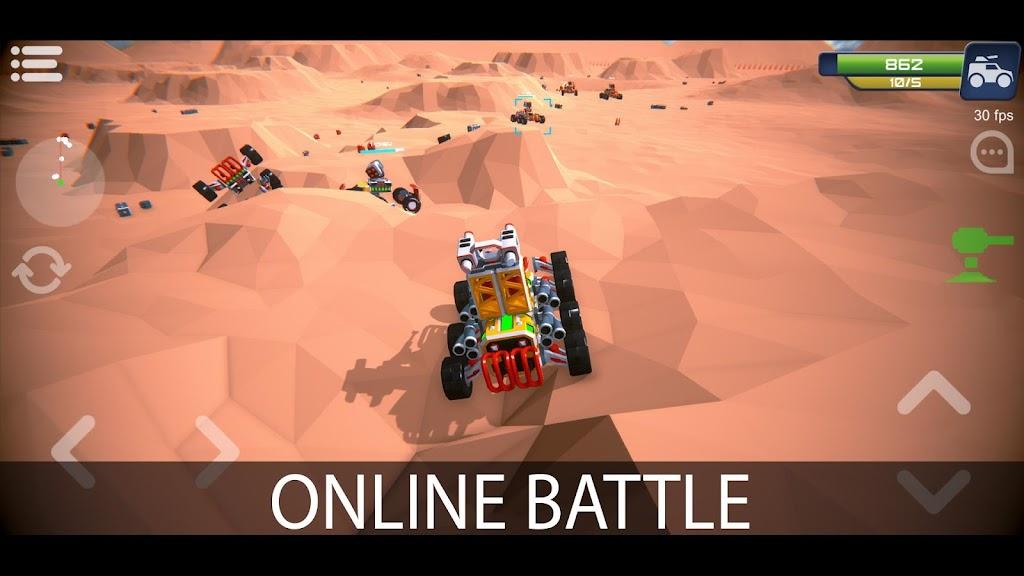 Block Tech : Tank Sandbox Craft Simulator Online  poster 0