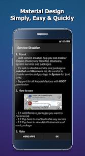 Service Disabler Pro MOD APK by KunKunSoft 4