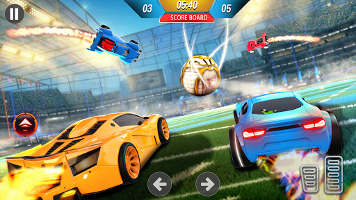 Rocket Car Ball League - 3D Car Soccer Game  screenshots 1