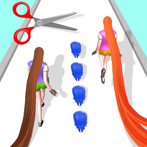 Hair Challenge 3D Game Rush Run
