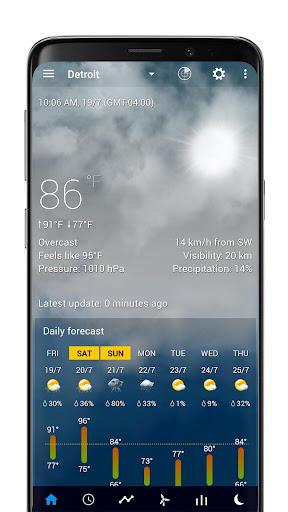 Realistic animated weather backgrounds add-on 2.0.1 Screenshots 2
