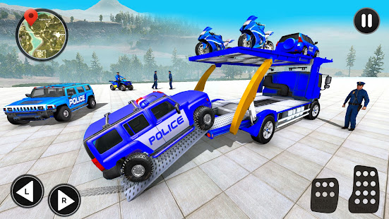 Grand Police Prado Car Transport 3.6 Screenshots 6
